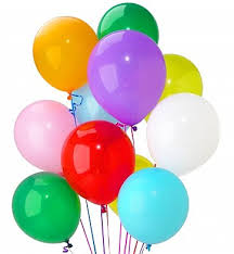 10 helium balloons for Pune, Dehradun, Mumbai, Chandigarh and Jalandhar only