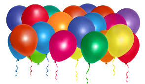 30 helium balloons for Ludhiana only