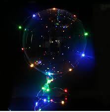 1 Inflatable LED Light Balloon For Birthday Party Wedding Delivered
