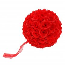 Hanging ball of 20 Red roses