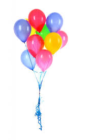 12 mix colour balloons