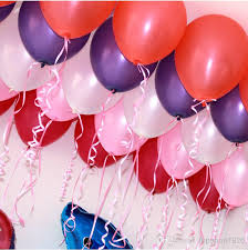 20 helium balloons for Pune, Dehradun, Mumbai, Chandigarh and Jalandhar only