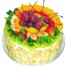 2 kg Fresh fruit cake