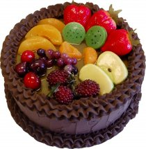 1 kg Chocolate fruit cake