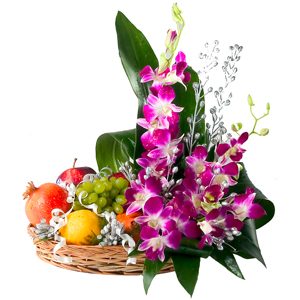 Orchids with fruits