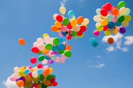 100 helium balloons for goa only