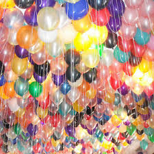 40 Helium Gas Balloons For Bangalore Only