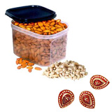 Dry fruit in a reusable container