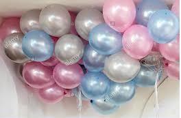 25 Helium Metallic Balloons