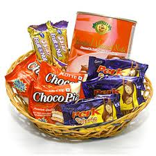 Cadbury chocolates with rakhi