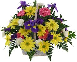 Flowers basket